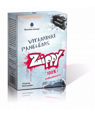 Vitaminai panelėms, paaugliams, jaunimui Zippy