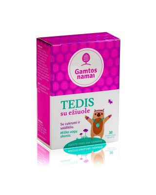 Multivitaminai vaikams TEDIS su ežiuole