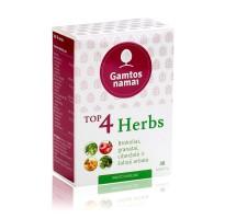 Maisto papildas priešonkologinis TOP 4 Herbs