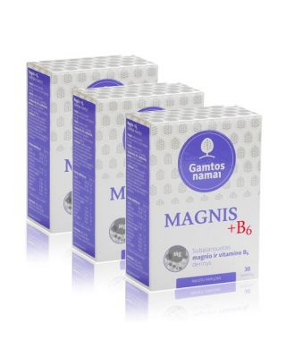 Magnis + B6 nervams AKCIJA