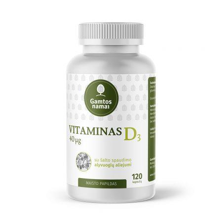 VITAMINAS D3 40 µg