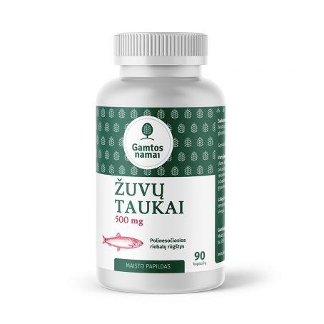 Žuvų taukai 500 mg
