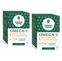 Omega-3 plius Resveratrolis Kofermentas Q10
