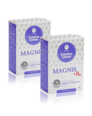 Magnis + B6 nervams AKCIJA pigiau