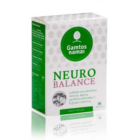 Vitaminai nervams, stresui NEURO BALANCE