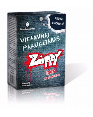 Vitaminai paaugliams, jaunimui Zippy